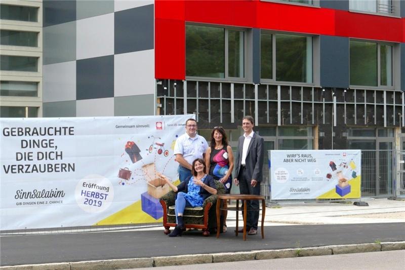 Das neue Sozialkaufhaus in Donauwörth - eine kooperation zwischen Caritas und Stiftung St. Johannes