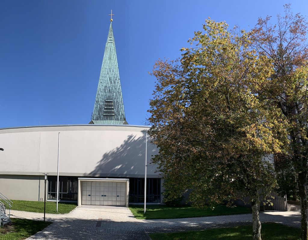 Christi Himmelfahrt Parkstadt