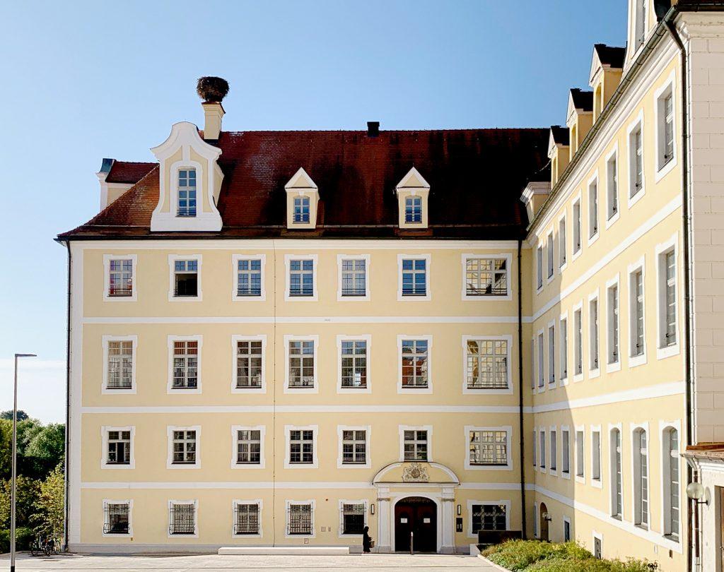 Unser Pfarrbüro im Kloster Heilig Kreuz