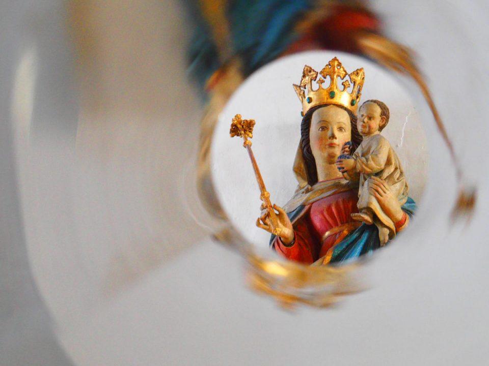 Madonna mit Kind im Donauwörther Münster