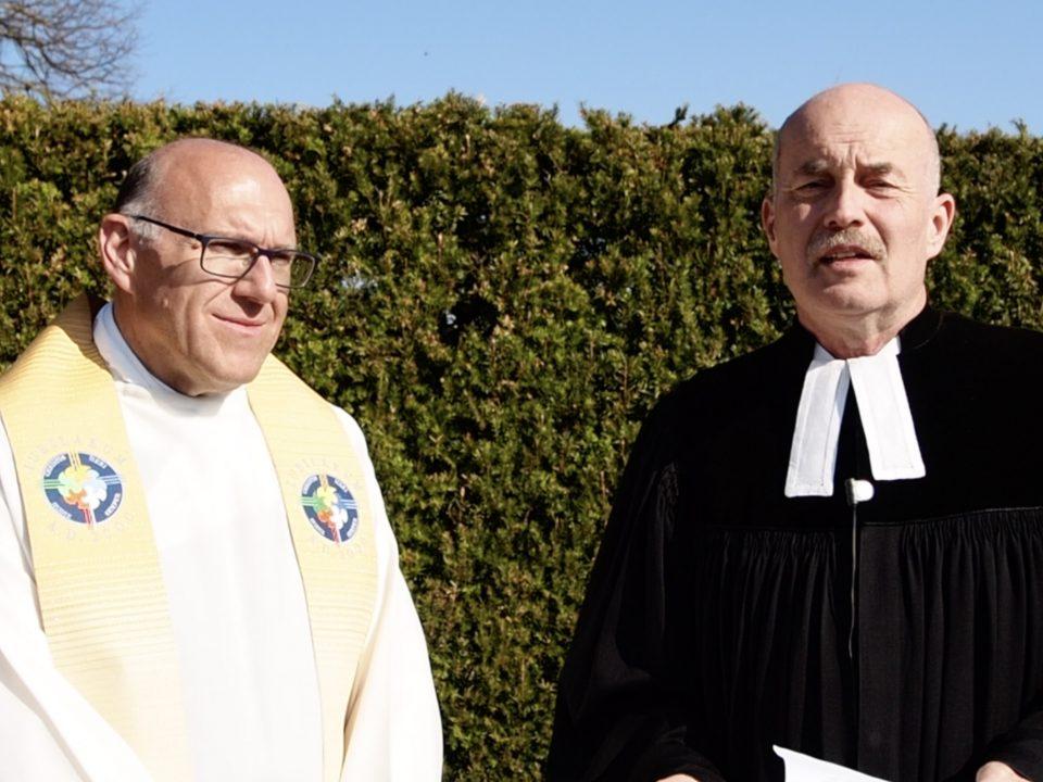 Dekan Neuner und Dekan Heidecker