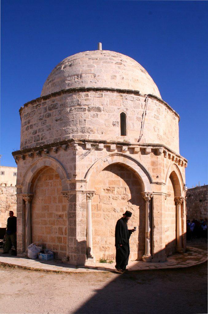 Christi Himmelfahrts Kapelle in Jerusalem